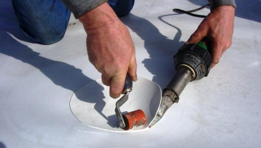 Flat Roof Repair Step 3