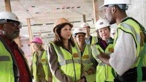 Más seguros los trabajos de construcción