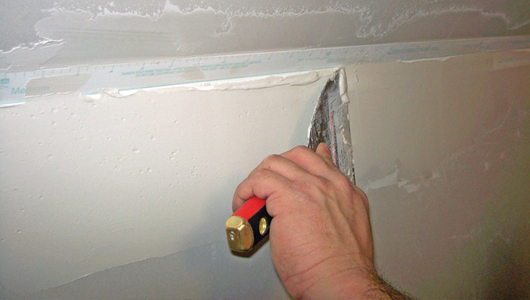 Applying Drywall Tape : How to tape angled drywall joints pro construction guide