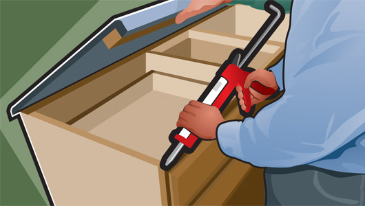 Installing Solid Surface Countertops