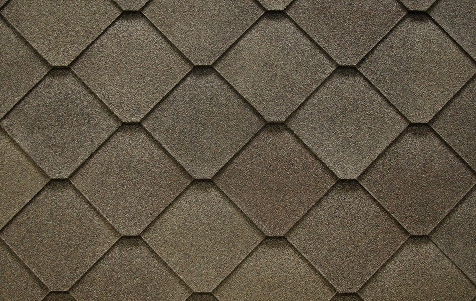 diamond-shaped GAF shingles