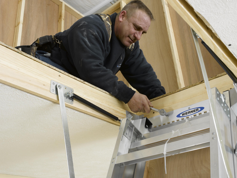 How To Install An Attic Ladder Constru Gu 237 A Al D 237 A
