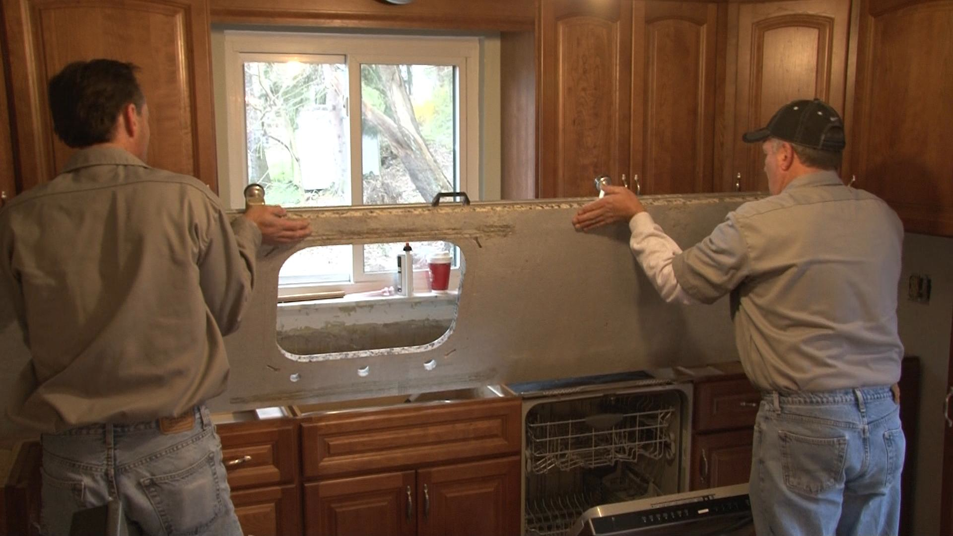 How to install granite countertops Pro Construction Guide