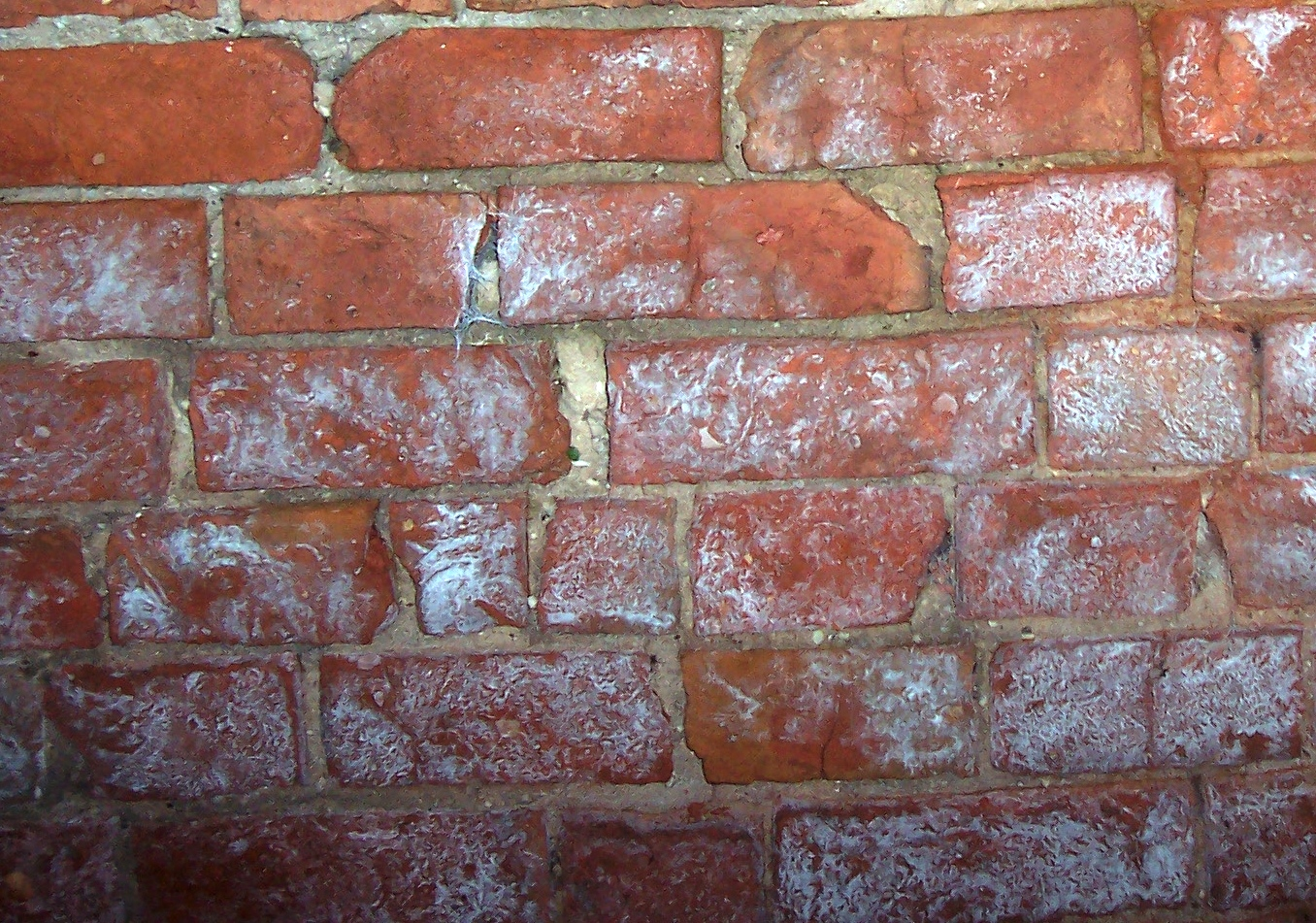 Replacing spalling brickschado