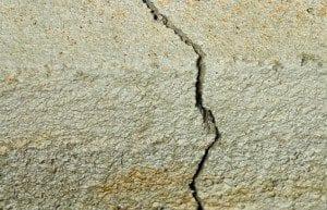 Locating concrete foundation problems