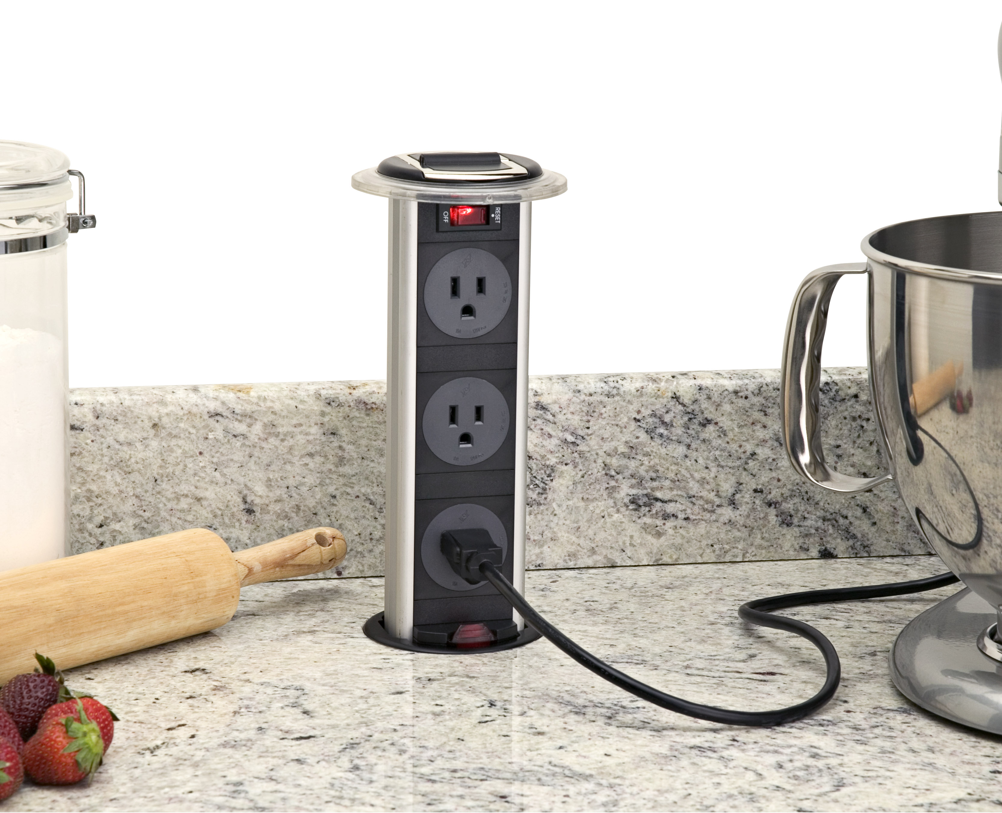 Installing a pop up electrical outlet | Pro Construction Guide