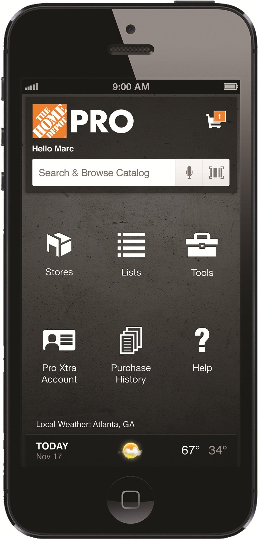 introducing the home depot pro app pro construction guide