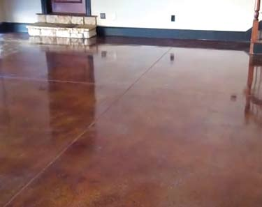 Perfect stained concrete floors