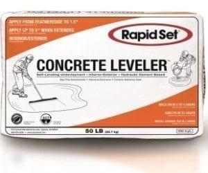 Concrete-leveler