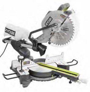 Ryobi 12-inch sliding compound miter saw