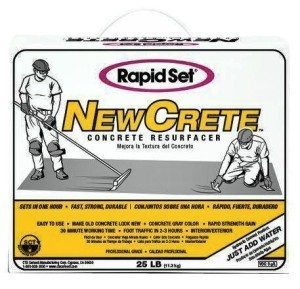 Rapid Set Newcrete Concrete Resurfacer Pro Construction