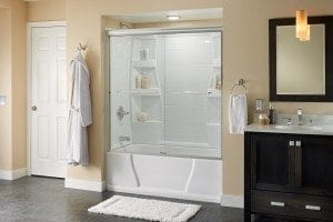Delta's customizable shower doors