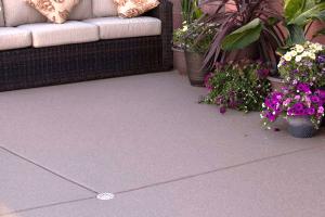 Behr granite grip concrete floor coating