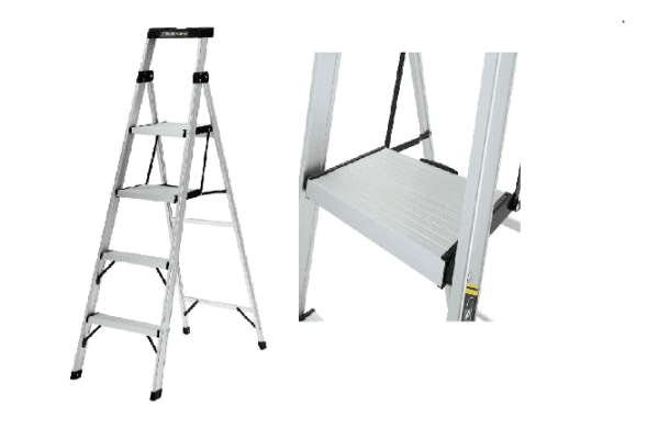 Gorilla Ladders 6 Foot Aluminum Step Ladder Pro