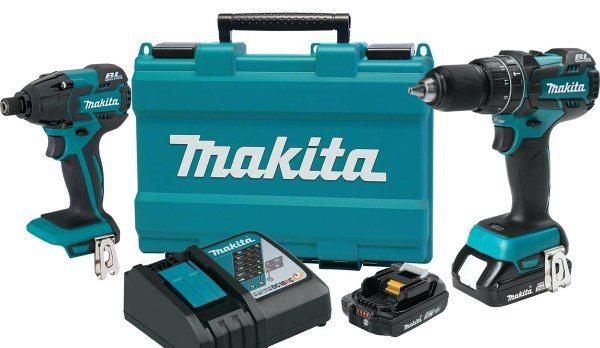 Makita 18v Compact Lithium Ion Combo Kit Pro