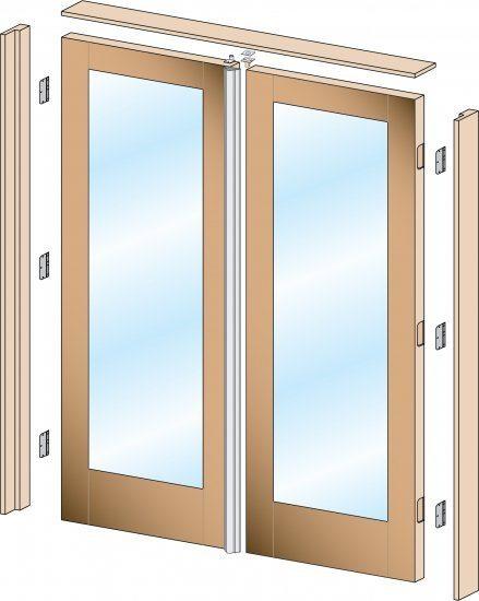 install a pre-hung door