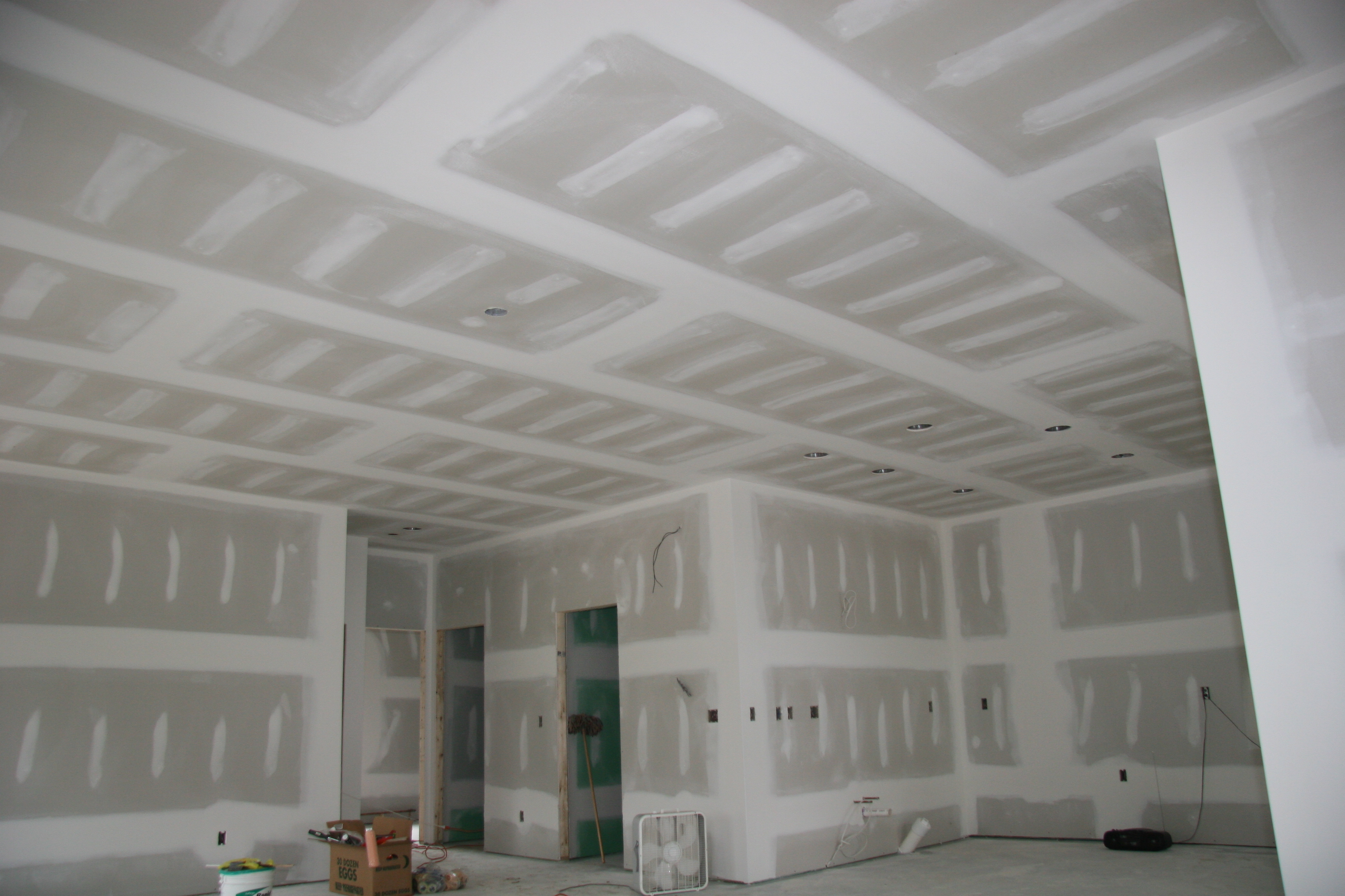 Drywall Gypsum Walls : Usually your house wall in us is painted by paint