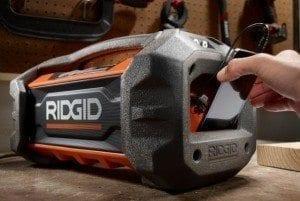 RIDGID Gen5X 18V Jobsite Radio