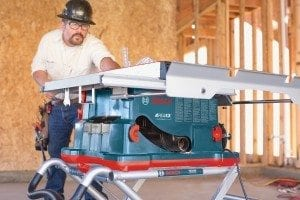 Reaxx jobsite table saw