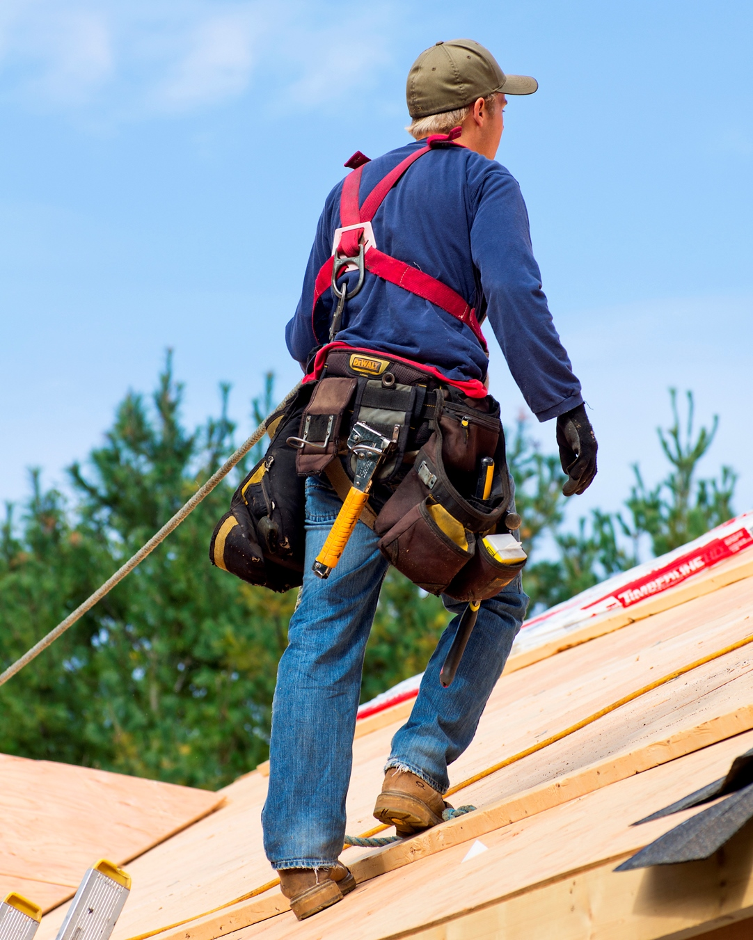 Using A Fall Arrest System And Safety Harness Correctly