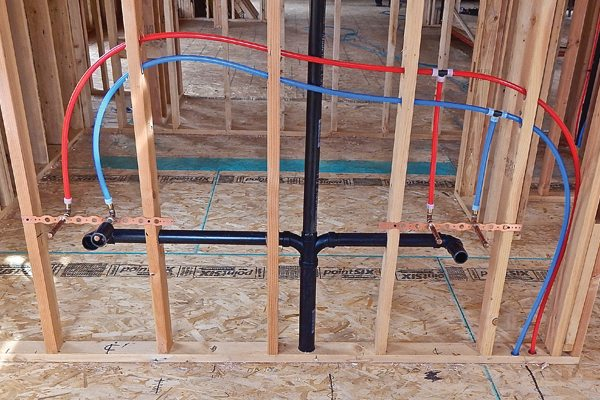 Rough in plumbing in new construction pro construction guide for New construction plumbing