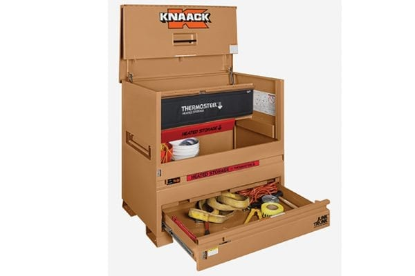 KNAACK Thermosteel heated storage box