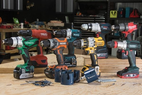 Voltage differences in power tools