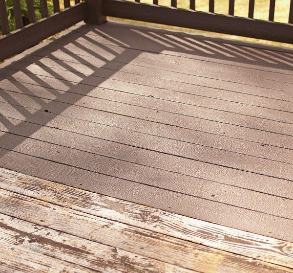 Deck resurfacer
