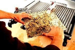 RIDGID portable tile saw
