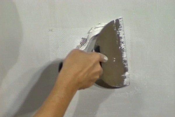 Repairing Deep Drywall Holes