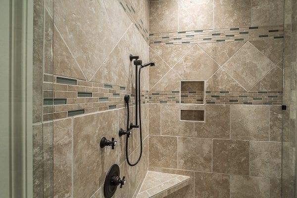 Tackling a shower tile backsplash