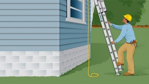 proper use of extension ladders