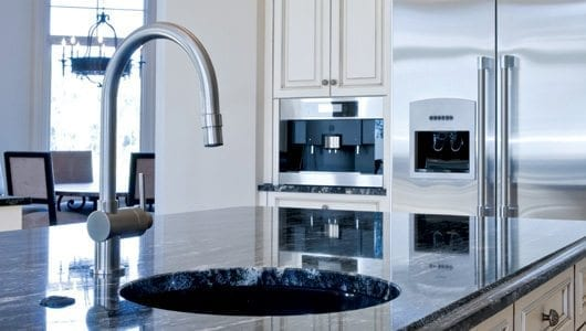 Installing solid-surface countertops