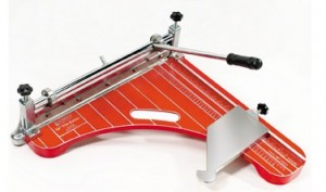 High-quality construction tools: Roberts vinyl tile cutter
