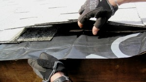 Tuck 5-inch strips of Ice and Water Shield under the shingles