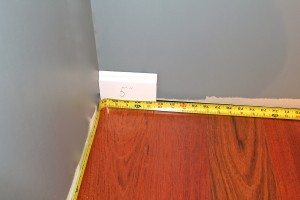 Measure to a block cut to exact length