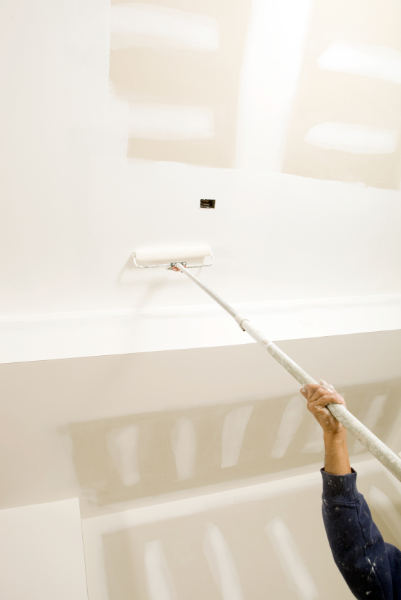 how to clean coolant from drywall