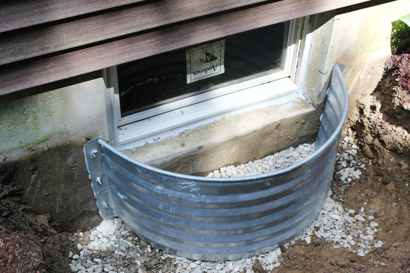 galvanized window well how to install a window well pro construction guide 1190