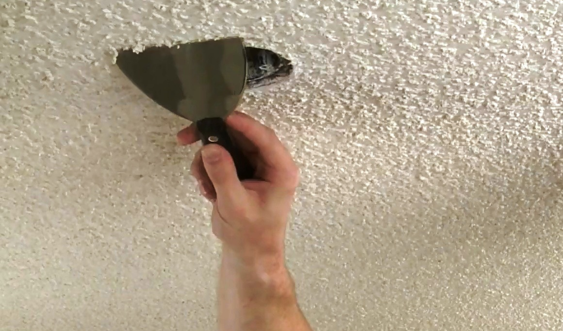 How To Remove Popcorn Ceiling Texture Pro Construction Guide
