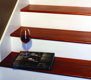 Here's how to install hardwood stairs