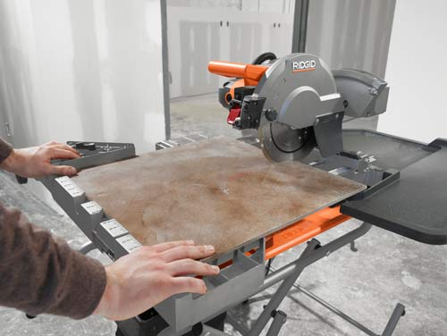 How to make precision cuts with a diamond saw