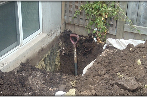 Tips for excavating near foundations