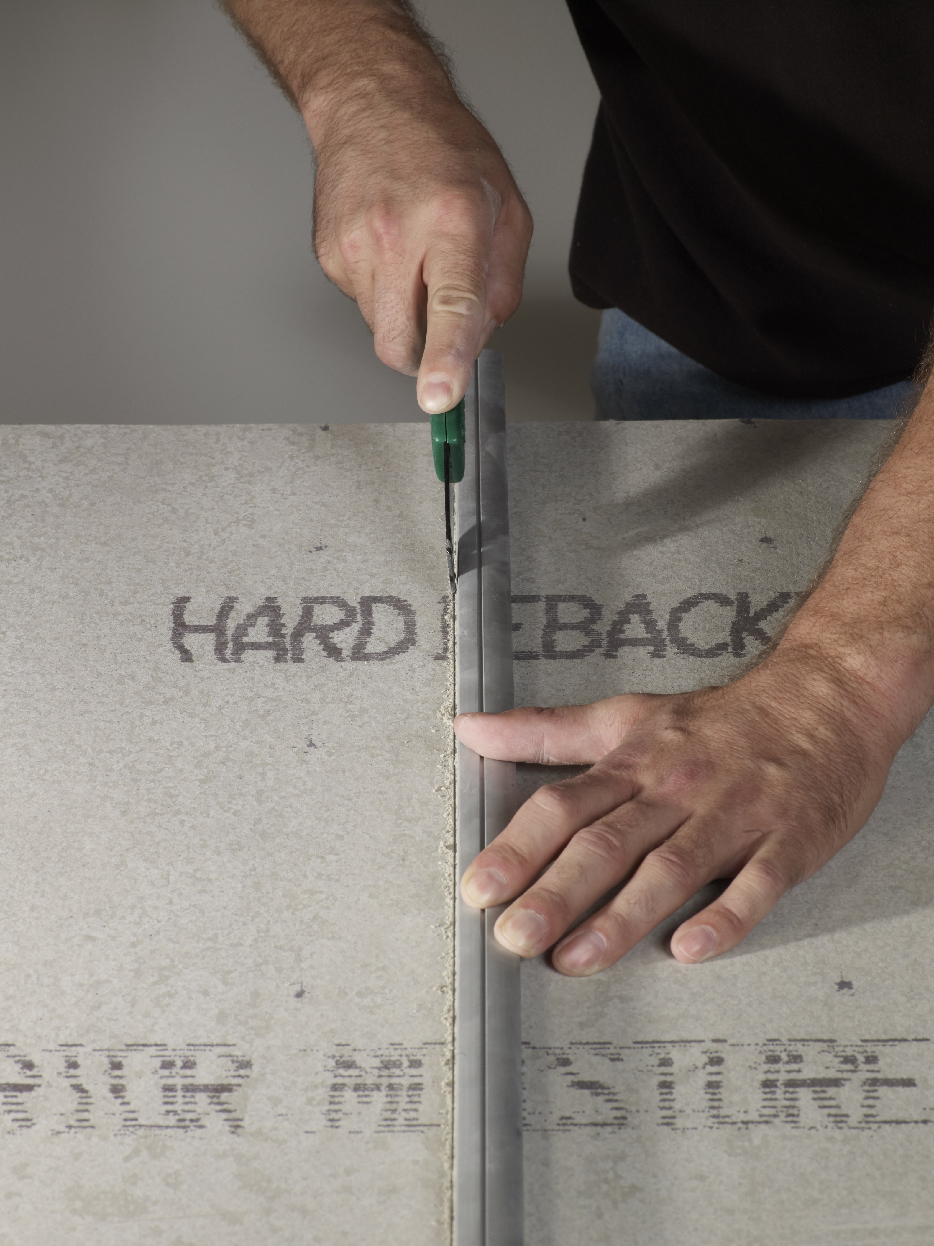 Most Cement Backer Board Products Can Be Cut Like Drywall