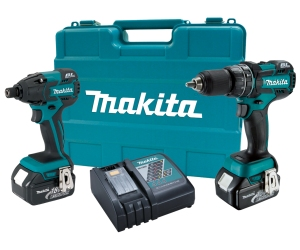 Makita kit for drilling, driving and fastening