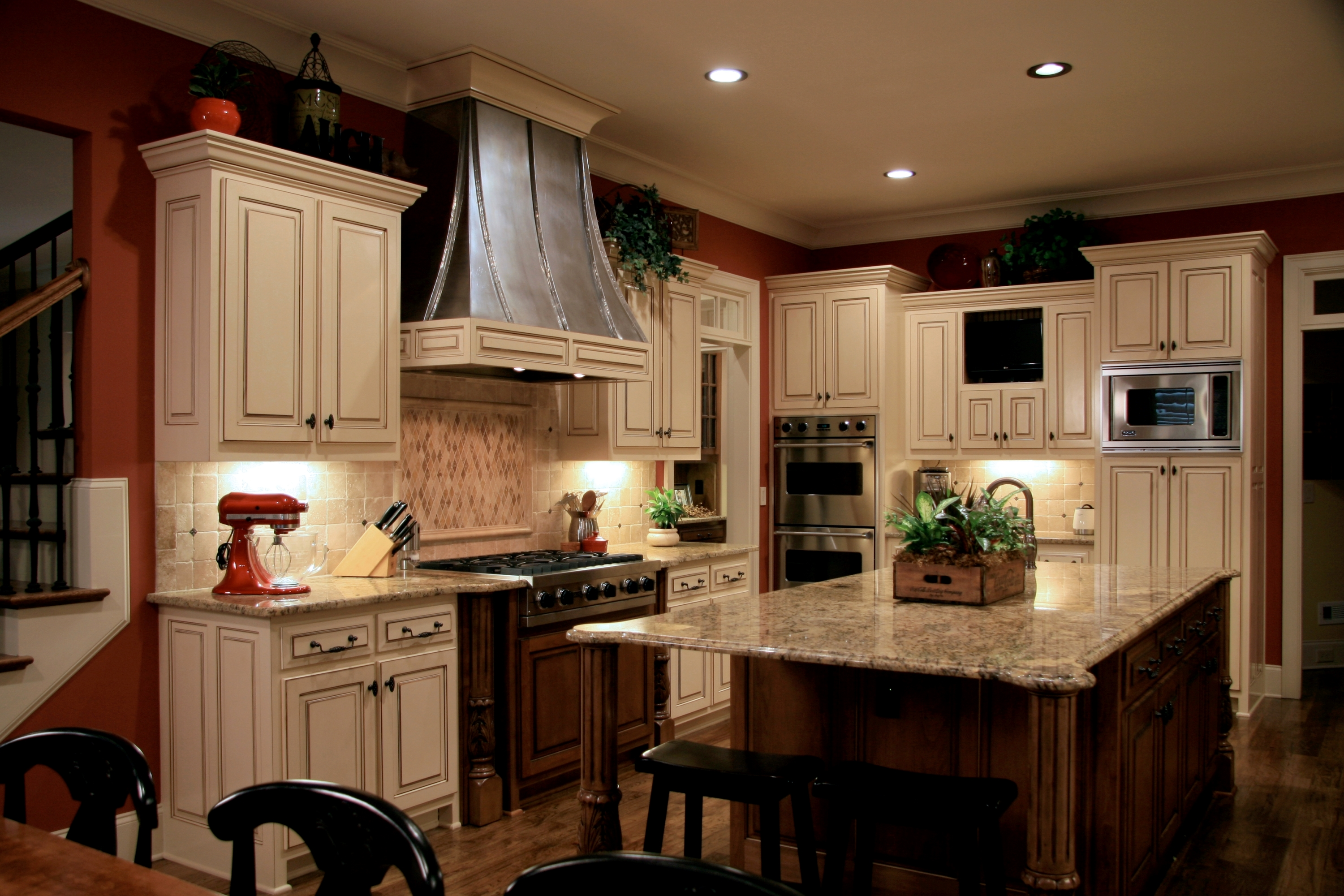 Install Recessed Lighting In A Kitchen Pro Construction
