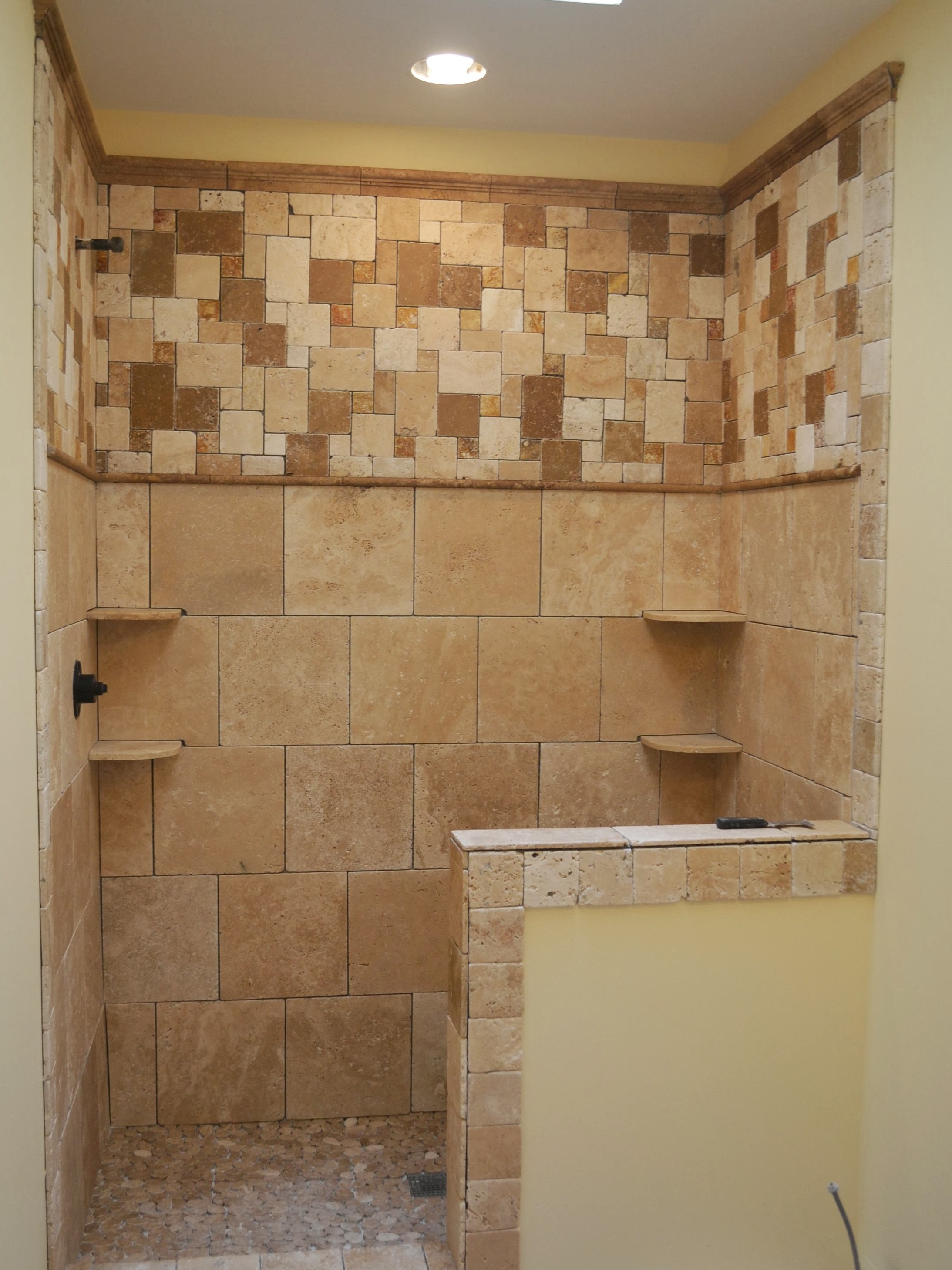 tile bathroom shower walls how to tile a shower wall pro construction guide 20818
