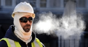How cold is too cold for construction workers?