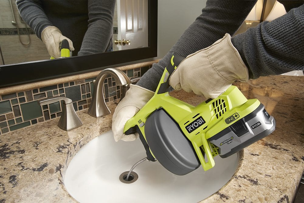 Cordless Drain Auger From Ryobi Pro Construction Guide