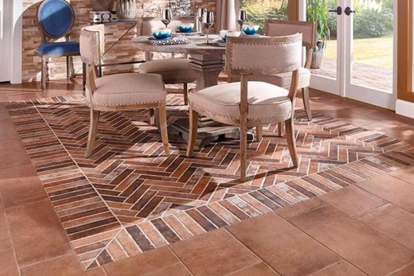 The look of brick in a porcelain tile pro construction guide for Losetas para pisos interiores