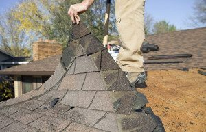 Old shingles can contain lead